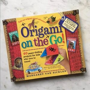 Origami On The Go Kids Art Book Paper Craft